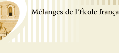 Medieval Journal online – French School in Rome – MEFRM, 216.2, 2014