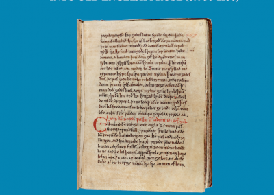TEMA 73: Hagiography in Anglo-Saxon England: Adopting and Adapting Saint's Lives into Old English Prose (c. 950-1150)